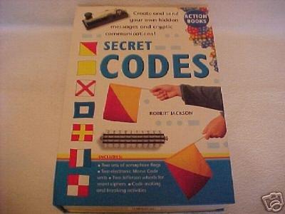 new SECRET CODES set kit w/ book-style hardcase - NEW!