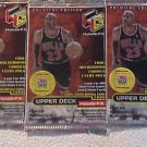 3 new 1999 2000 UD HoloGrFX basketball PACK - sealed