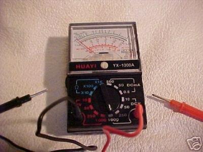 New 1000 volt ac/dc MULTITESTER multi tester multimeter