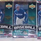 3 new 1999 UPPER DECK series 1 baseball HOBBY PACK