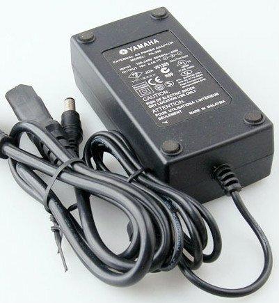 genuine adapter = Yamaha PSR S550 S550B Arranger keyboard cord brick PSU ac dc
