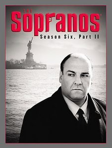The Sopranos season 6 six part 2 two 2007 4 DVD set NEW