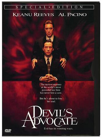 Devil's Advocate DVD Al Pacino Charlize Theron Don King