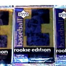 3 new 1998 ROOKIE EDITION baseball ser.3 series three PACK packs - sealed NEW