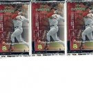 3 new 1999 UPPER DECK MVP baseball sealed PACKs - ProSign short print autographs