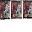3 new 1999 UPPER DECK MVP baseball sealed PACKs - ProSign short print autographs
