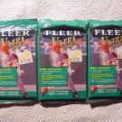 3 new 1999 Fleer ULTRA baseball HOBBY PACK - sealed