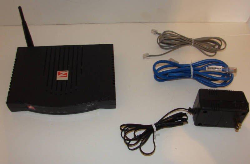 ZOOM MODEM 5590B ADSL X6 WIRELESS LAN ROUTER internet network 4 port 1000mbps