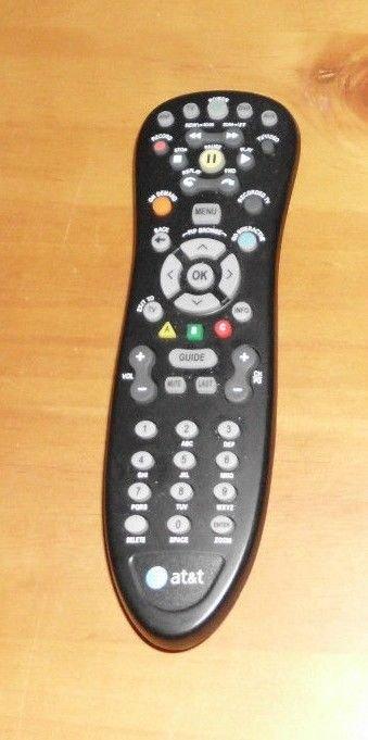S10 S1 REMOTE CONTROL AT T = Cisco u verse ISB 7005 TV cable box receiver HDMI