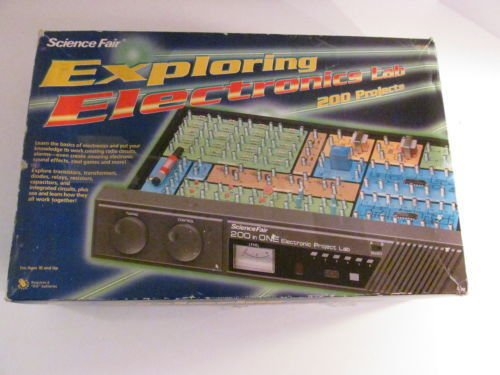 Science Fair Exploring Electronics Lab complete set kit science 200 projects