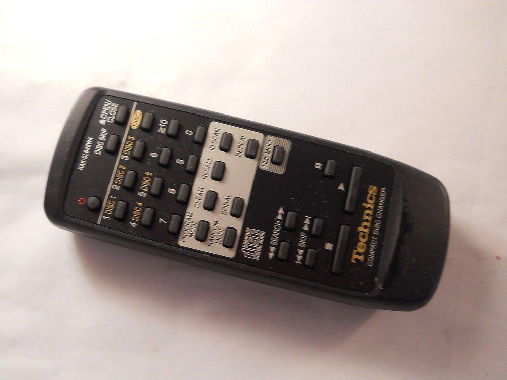 TECHNICS RAK SL948WK remote controller CD changer SLPD10 SLPD5 SLPD6 SLPD8 SLPD9