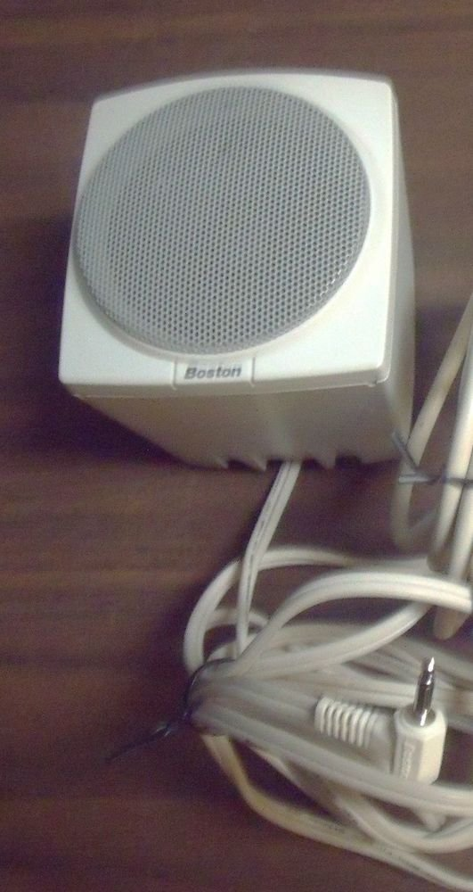 BOSTON ACOUSTICS BA 735 - remote Satellite Speaker ONLY - pc laptop stereo iPod