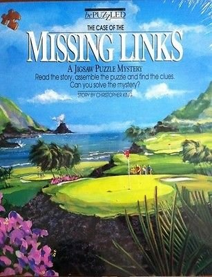 new - BePuzzled Case of the Missing Links Puzzle GOLF NEW Factory Sealed