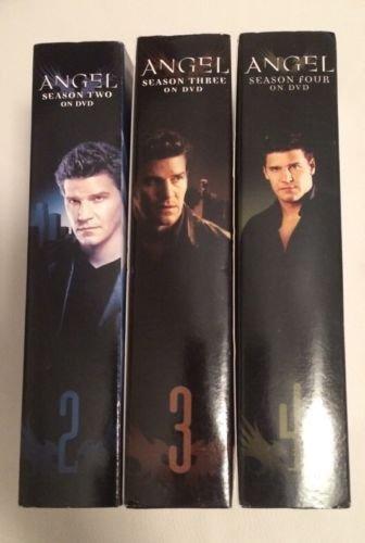 Angel Season 2 (two) & 3 (three) & 4 (four) DVD - David Boreanaz - 3 boxed sets