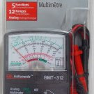 Gardner Bender Pocket-Size Analog Multi meter Tester GMT-312 New In Package
