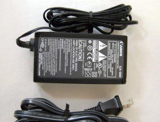 9.5v GENUINE Canon battery charger brick PowerShot Digital camera G1 G2 G3 G5 G6