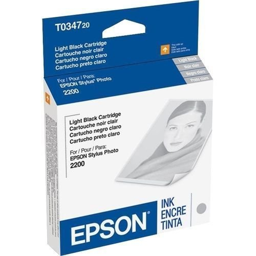 Epson T034720 lt.black ink C13T034720 GENUINE - stylus photo printer 2200 2100