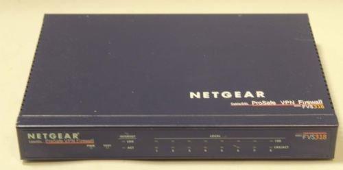 FVS 318 NETGEAR ProSafe VPN Firewall 8 pt internet cable router switch hub model