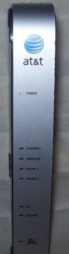 AT&T 2WIRE 2701HGV B Gateway WIRELESS G modem ROUTER DSL WiFi ethernet 4 port
