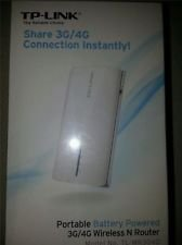 TP Link TL MR3040 Portable Battery Powered 3G/4G Wireless N 150 Router USB