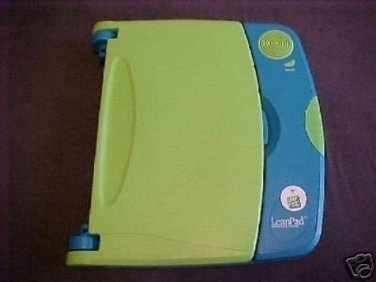 PRE-TESTED LeapPad Leap Frog LEARNING SYSTEM w/BOOK & brand new headphones