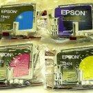 4 four Epson T0321 T0422 T0423 T0424 ink jet Cartridge C82 CX5200 CX5400 printer
