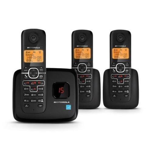 Motorola L703M cordless phone system 3 Handsets/Caller ID/digital answer system