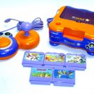 vTECH vSMILE educational learning game system console set w/ EXTRAS V Smile unit