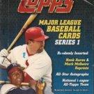 sealed HOBBY box 2000 TOPPS BASEBALL SERIES 1 one 36 packs MLB TOPPS
