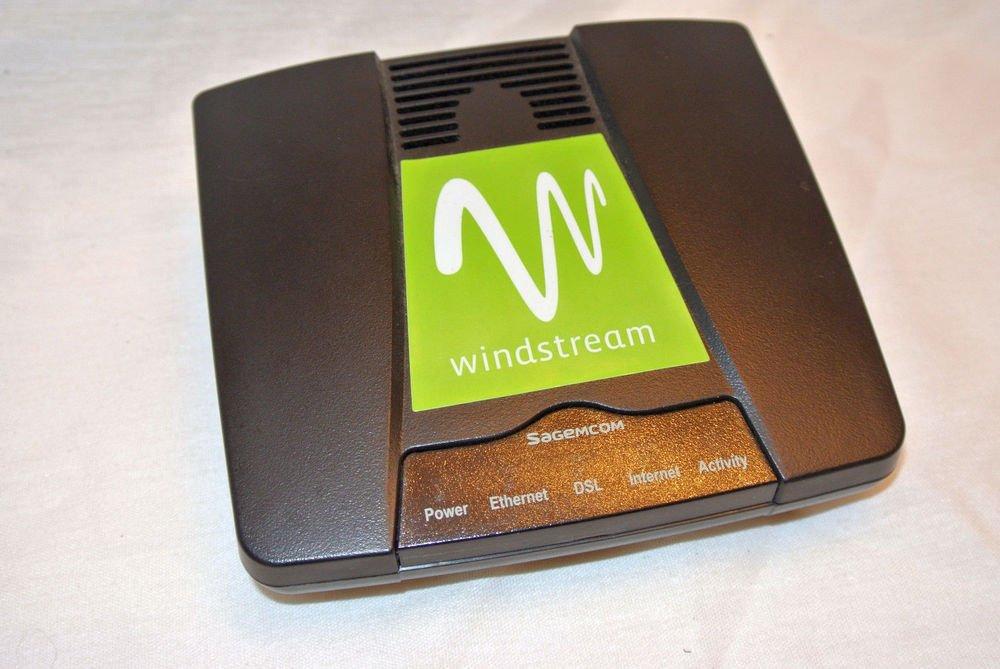 Sagecom WindStream 4300 DSL ADSL modem ethernet broadband siemens internet phone