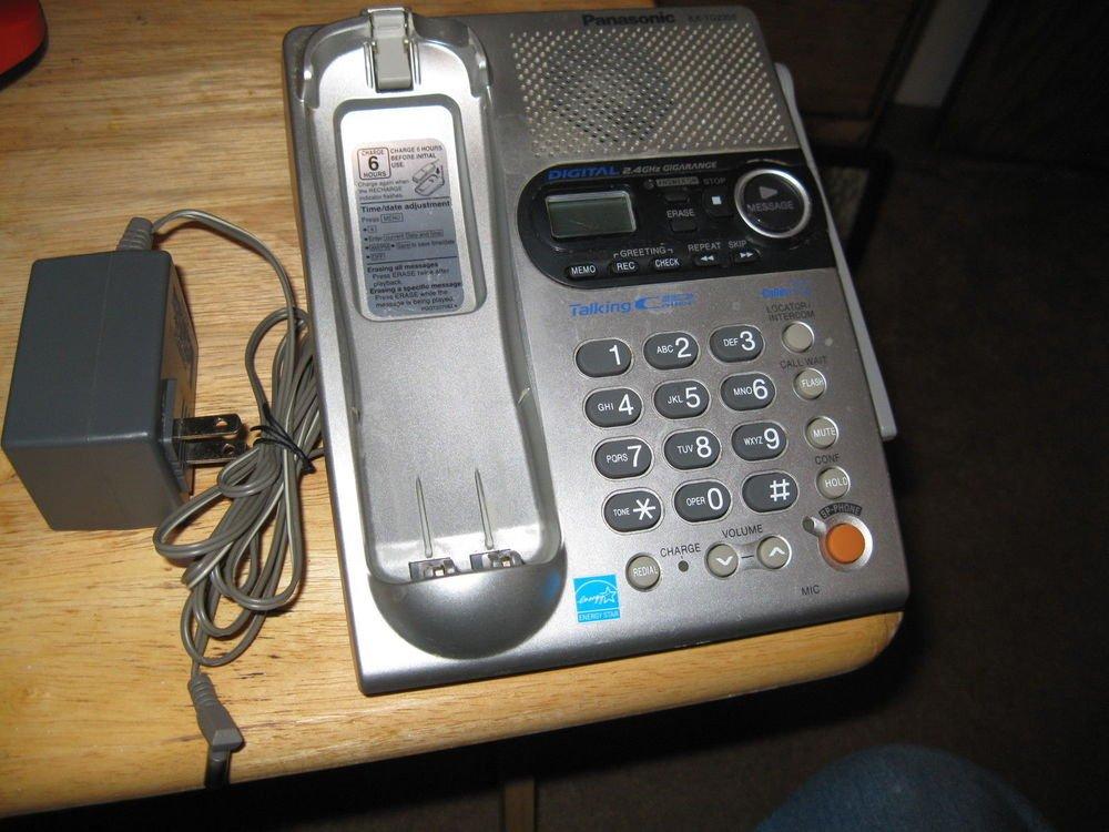 Panasonic KX TG2356S Main charge Base w/PSU cordless phone handset stand cradle
