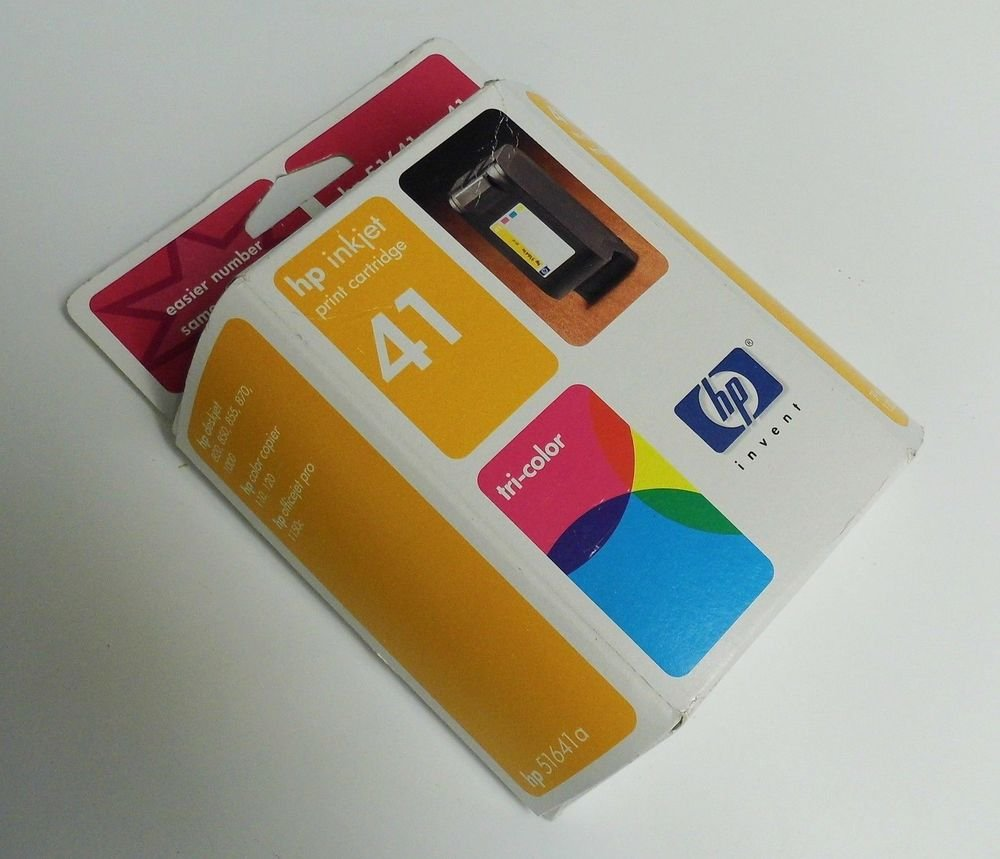 41 tri COLOR ink jet cartridge HP DeskJet 820C 850C 855C 870C 1000C printer