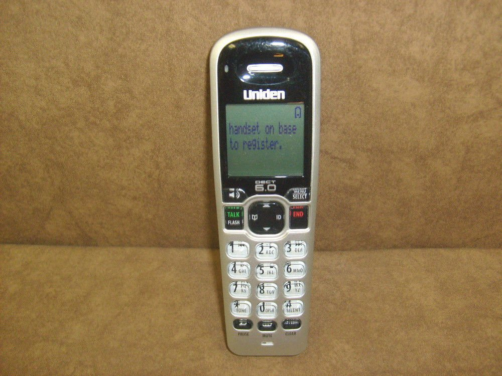 Uniden Dect 1680 2 HANDSET - cordless expansion telephone remote 6.0 GHz phone