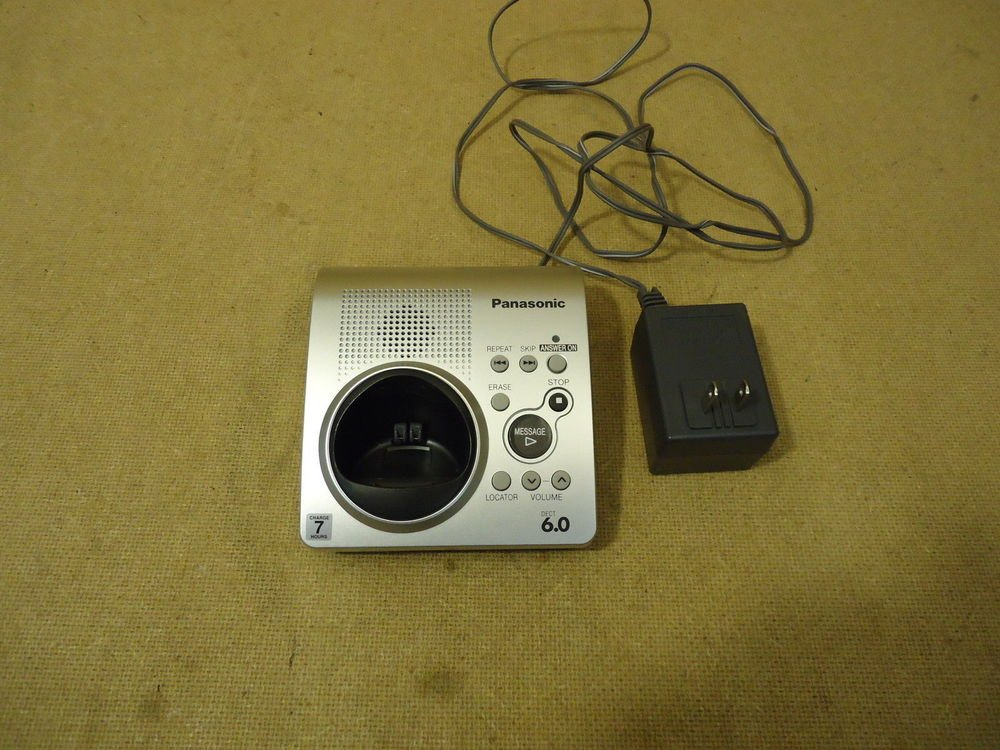 KX TG1031S TG1032S Panasonic main charging base PS = TGA101S phone charger stand