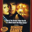 REINDEER GAMES DVD Ben AFFLECK Gary SINISE Charlize THERON Clarence WILLIAMS