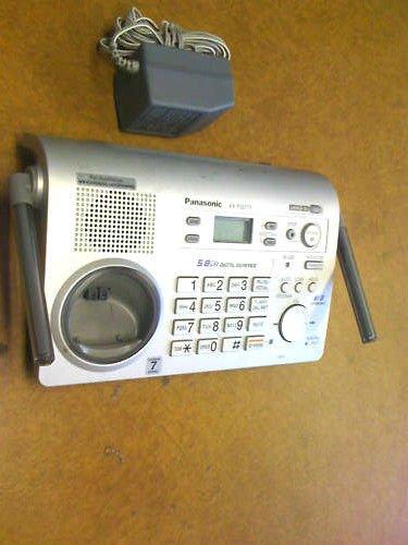 KX TG5776 S PANASONIC charger base unit = cordless TGA571 S handset tele phone