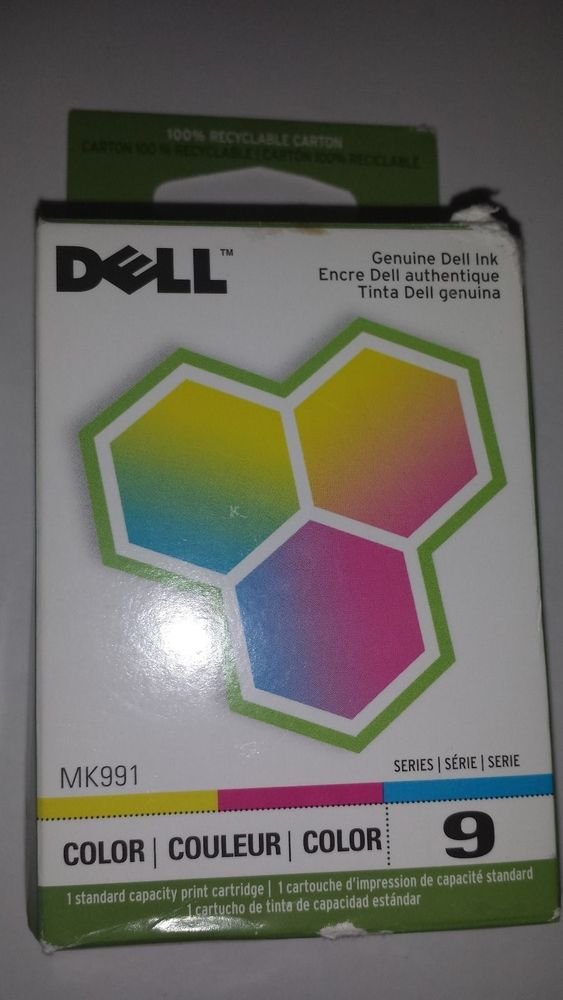 Dell Series 9 MK991 DX506 Color Ink Jet Cartridge 926 V305 V305w printer model