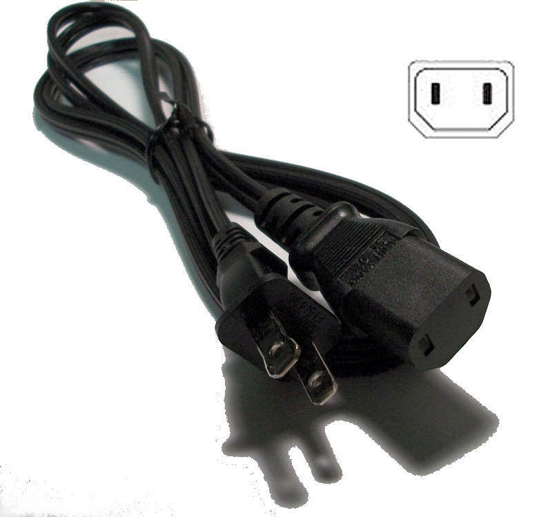POWER CORD - Yamaha RX V1200 RX V3800 receiver ac cable plug wire electric VAC