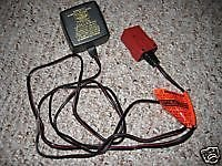 6v 6 volt Fisher Price Power Wheels battery charger red plug power adapter ac dc