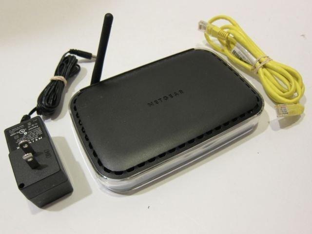 NetGear WNR1000 150 Mbps 4-Port 10/100 Wireless N Router internet ethernet