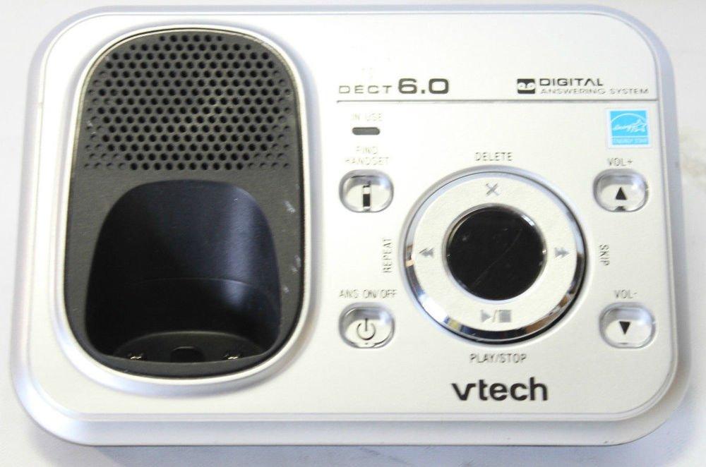 Vtech CS6328 3 main charge base DECT 6.0 CORDLESS PHONE v tech charging CS 6328