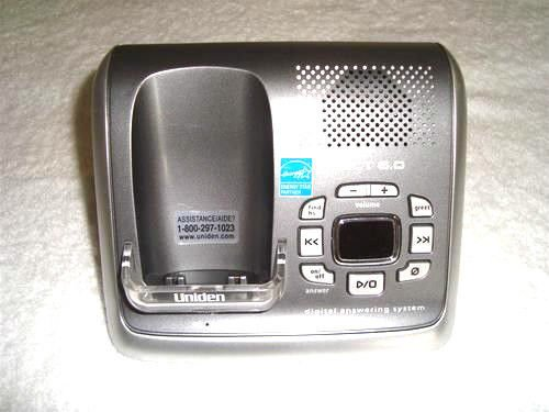 Uniden DECT 2080 2 main charger base = cordless tele phone remote DCX200 handset