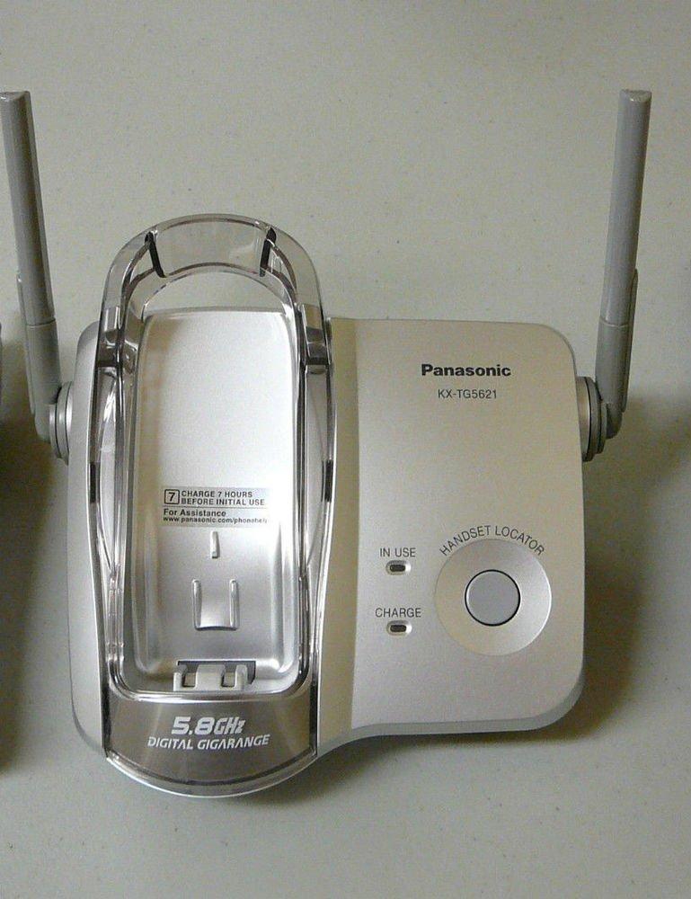 Panasonic KX TG5621S Main Base - cordless phone TGA561S handset stand cradle ac