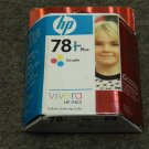 78 plus TRI COLOR ink jet Cartridge HP PhotoSmart 1315 P1000 1218 1215 printer