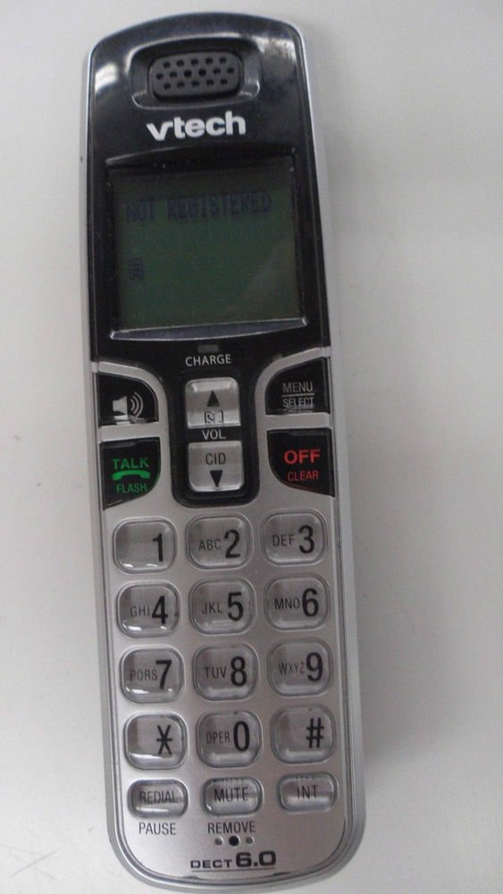 vTech CS6219 2 HANDSET - cordless expansion tele phone remote DECT6.0 wireless