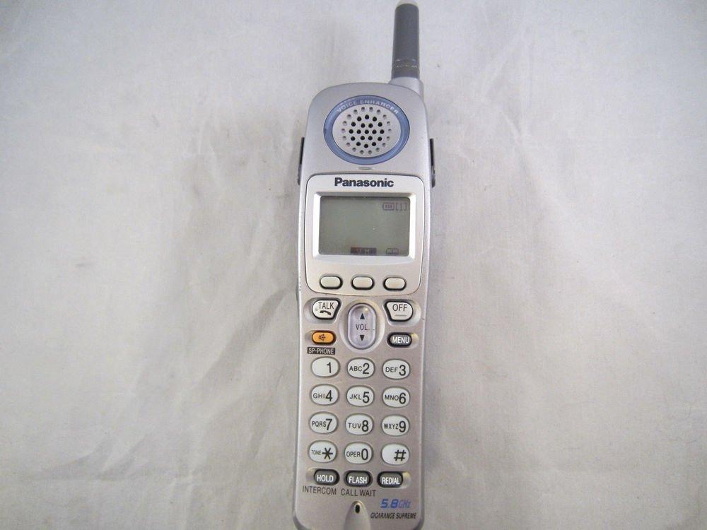 KX TGA520M PANASONIC HANDSET - cordless tele phone TG5200 series main remote