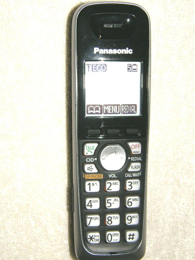 KX TGA652 B black PANASONIC HANDSET - cordless tele phone TG6541 TG6512 TG6545