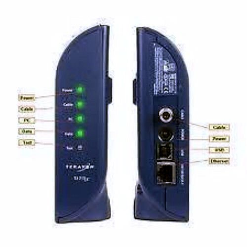 Terayon TJ 715X Cable Modem PC ethernet USB internet DOCSIS 2.0 TJ715x broadband