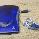 Iomega Zip 250 USB powered blue External storage Drive PC MAC model Z250USBPCMBP