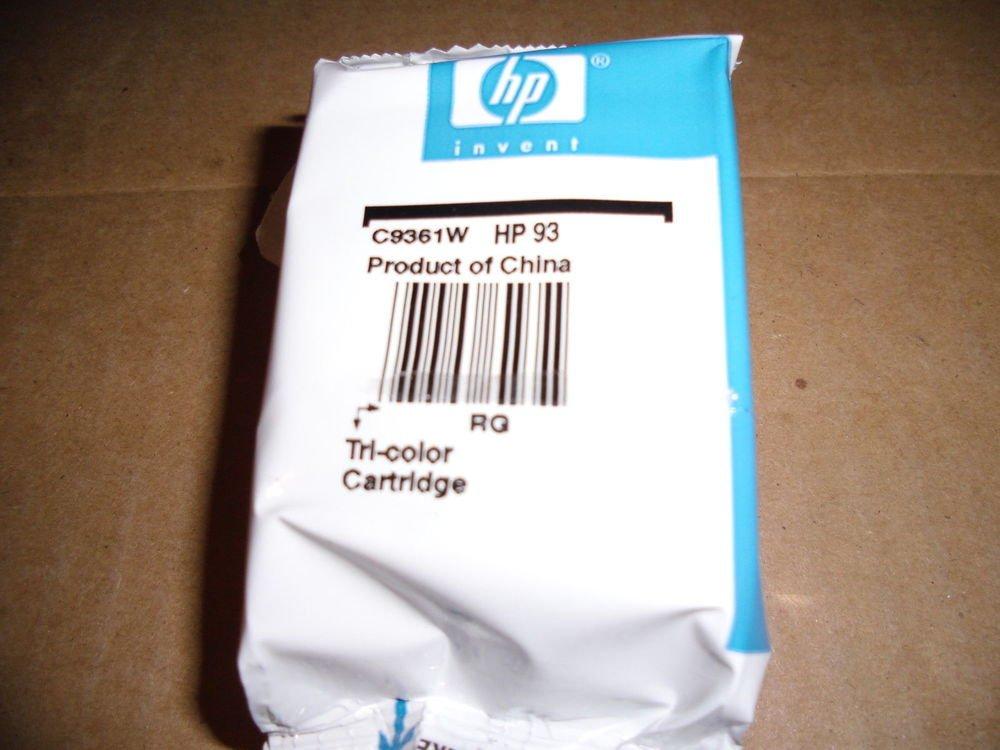 93 Tri Color cartridge ink HP PhotoSmart C3135 C3140 C3150 C3180 7850 printer